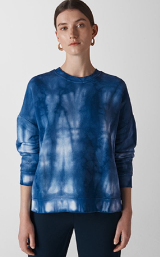 Whistles Tie Dye Jumper THerunnerbeans sale picks